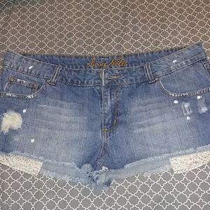 Juniors Jean Shorts